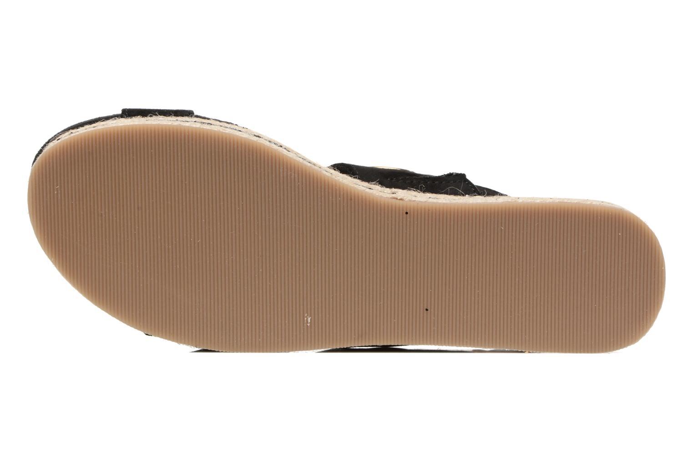Sandales et nu-pieds S.Oliver Rocky Noir vue haut