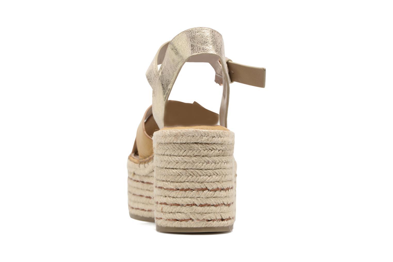 Sandales et nu-pieds S.Oliver Camila Marron vue droite