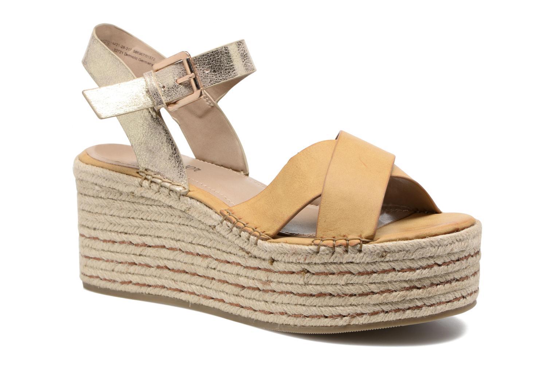 Sandales et nu-pieds S.Oliver Camila Marron vue détail/paire
