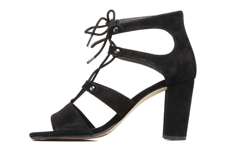 Sandales et nu-pieds S.Oliver Paula Noir vue face