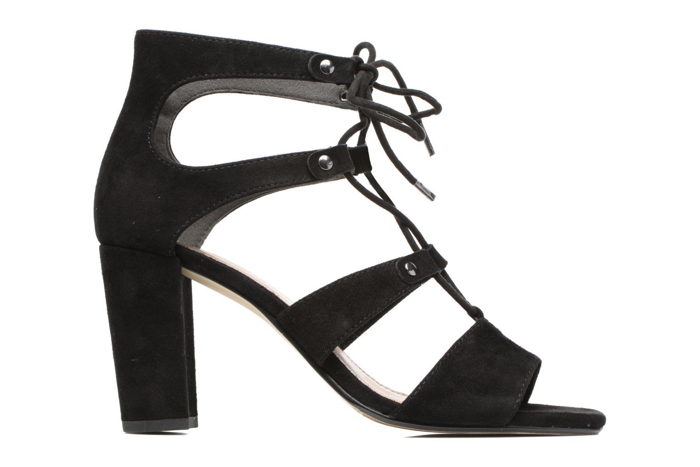 Sandales et nu-pieds S.Oliver Paula Noir vue derrière