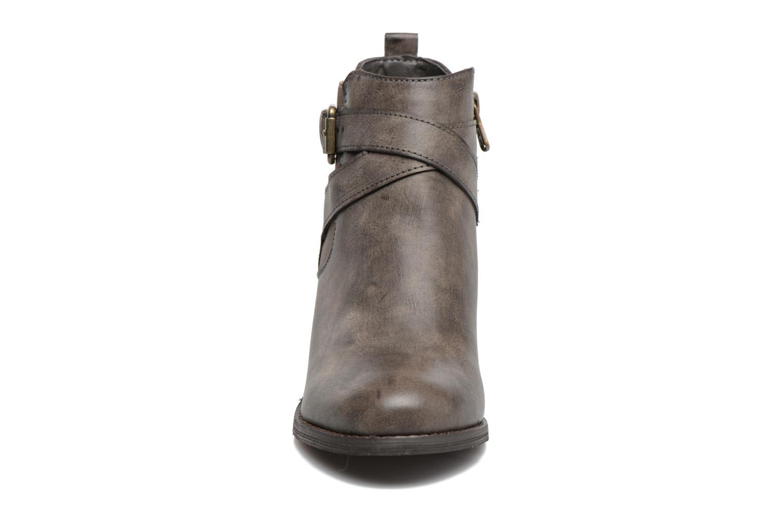 Bottines et boots Refresh Grisan Gris vue portées chaussures
