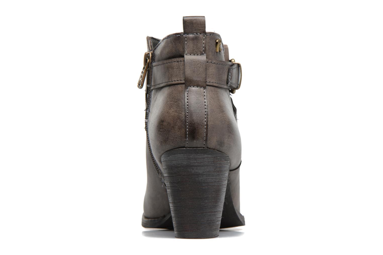 Bottines et boots Refresh Grisan Gris vue droite