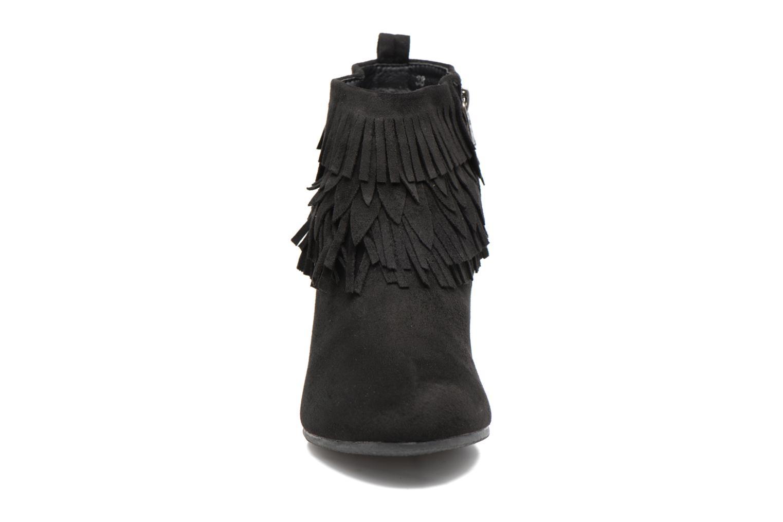 Bottines et boots Refresh Candy Noir vue portées chaussures