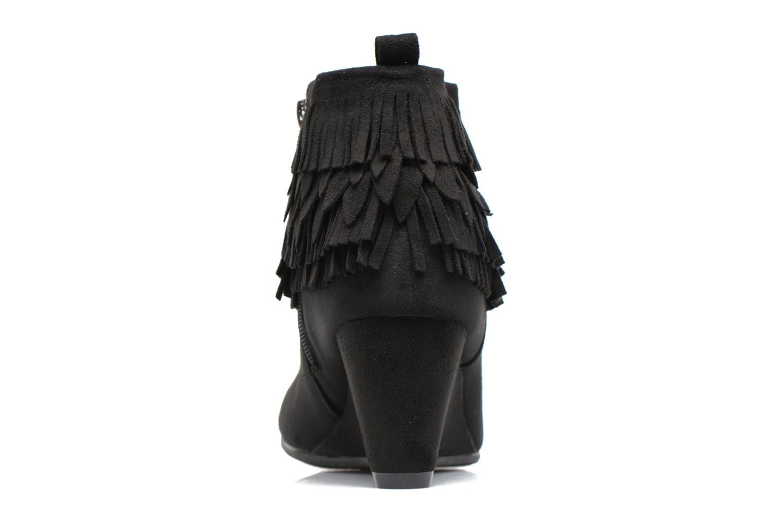 Bottines et boots Refresh Candy Noir vue droite