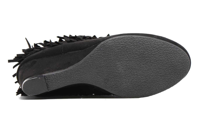 Bottines et boots Refresh Candy Noir vue haut