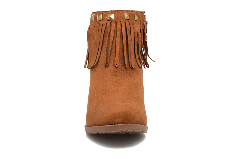 Bottines et boots Refresh Talin Marron vue portées chaussures