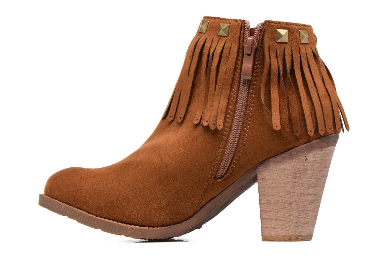 Bottines et boots Refresh Talin Marron vue face