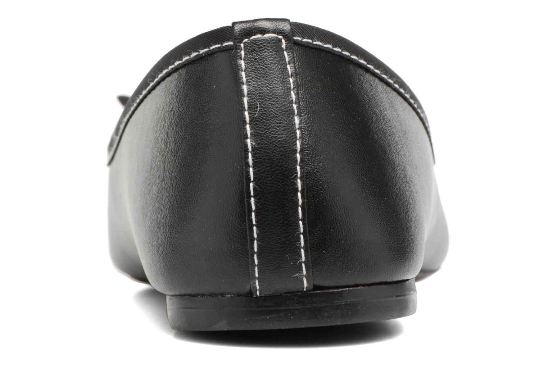 Ballerines Isotoner Ballerine couture Noir vue droite