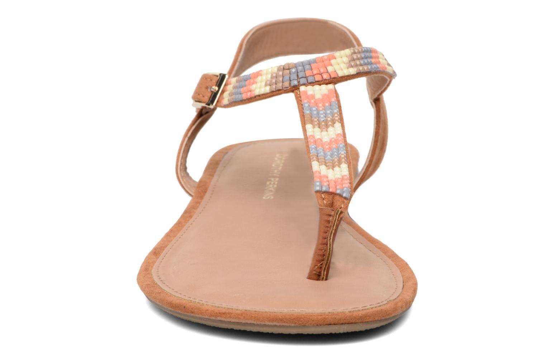 Sandales et nu-pieds Dorothy Perkins Fire Marron vue portées chaussures