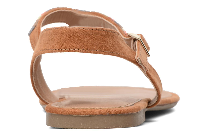 Sandales et nu-pieds Dorothy Perkins Fire Marron vue droite