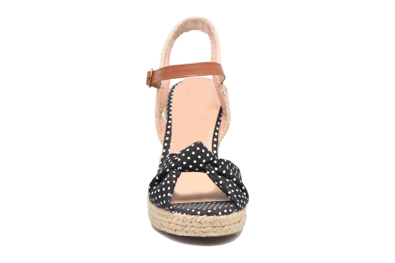 Espadrilles Dorothy Perkins Robyn Noir vue portées chaussures