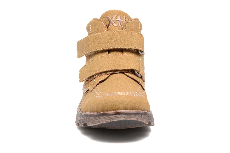 Bottines et boots Xti Stimi 53333 Beige vue portées chaussures