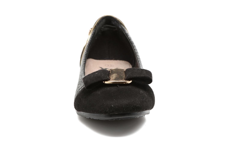 Ballerines Xti Casi 53802 Noir vue portées chaussures