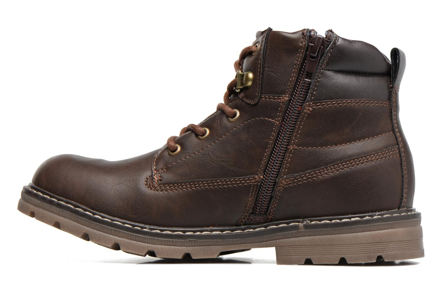 Bottines et boots Xti Antos 53924 Marron vue face