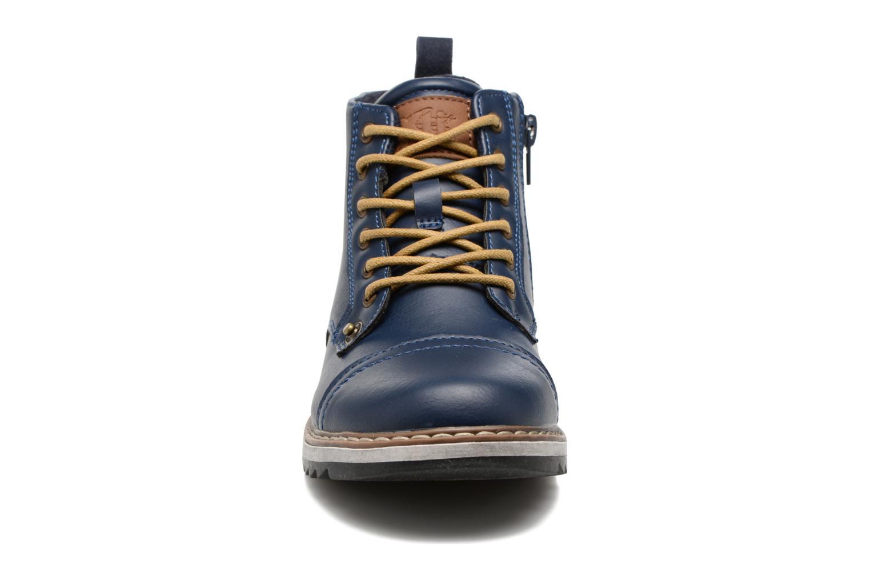 Bottines et boots Xti Lucusa 53928 Bleu vue portées chaussures