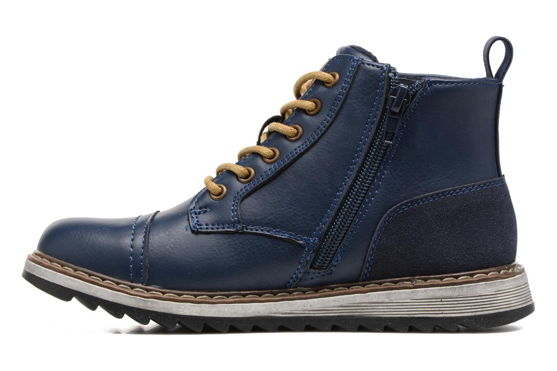 Bottines et boots Xti Lucusa 53928 Bleu vue face