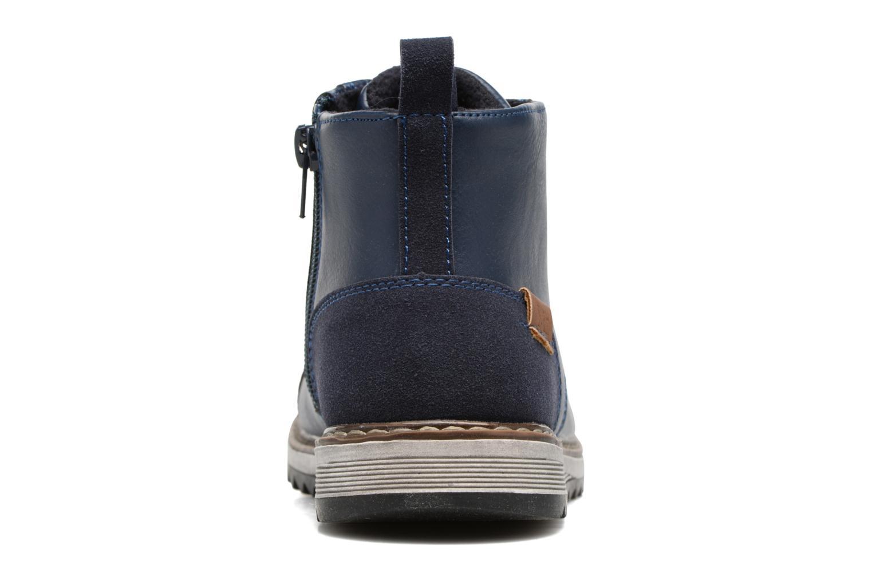 Bottines et boots Xti Lucusa 53928 Bleu vue droite