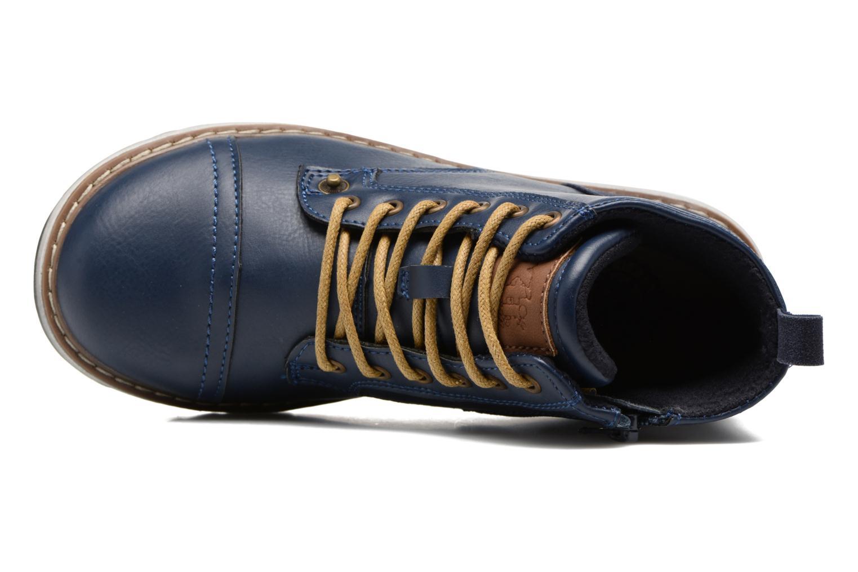 Bottines et boots Xti Lucusa 53928 Bleu vue gauche