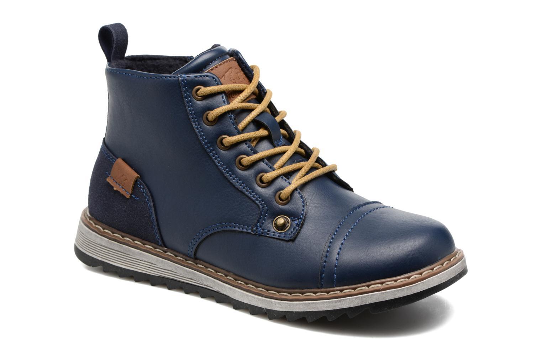 Bottines et boots Xti Lucusa 53928 Bleu vue détail/paire