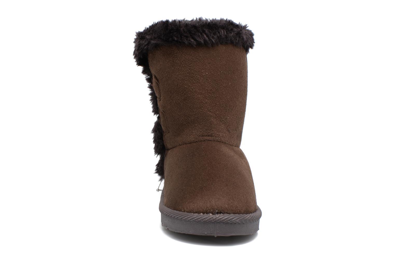 Bottes Xti Kola 54024 Marron vue portées chaussures