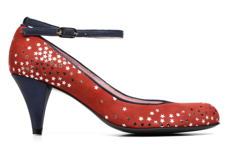 Zapatos de tacón Annabel Winship Queen Rojo vistra trasera