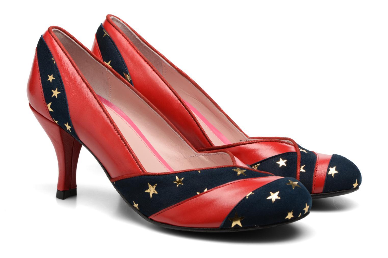 Zapatos de tacón Annabel Winship Umathurman Rojo vista 3/4