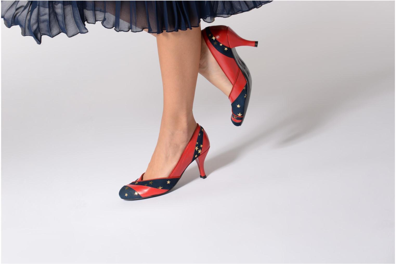 Zapatos de tacón Annabel Winship Umathurman Rojo vista de abajo