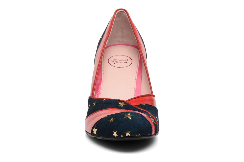 Zapatos de tacón Annabel Winship Umathurman Rojo vista del modelo