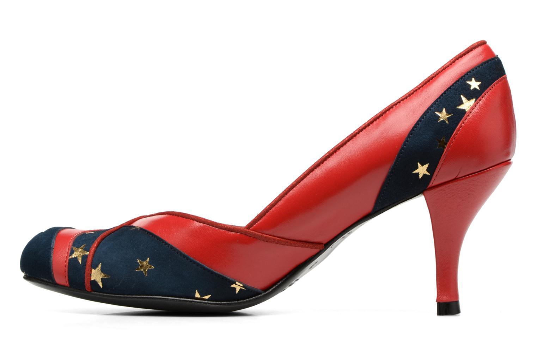 Zapatos de tacón Annabel Winship Umathurman Rojo vista de frente