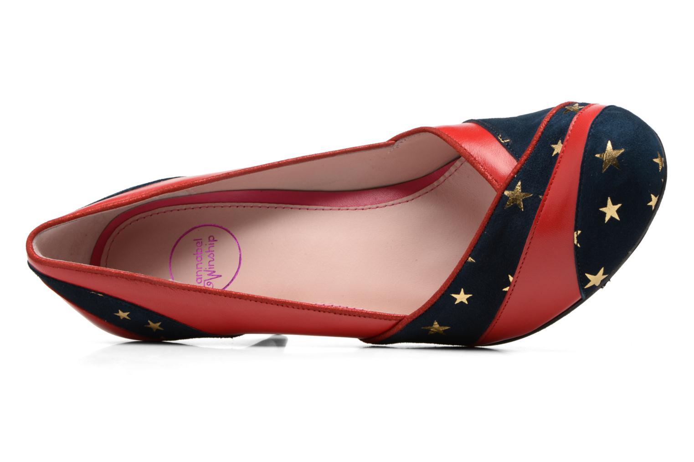 Zapatos de tacón Annabel Winship Umathurman Rojo vista lateral izquierda