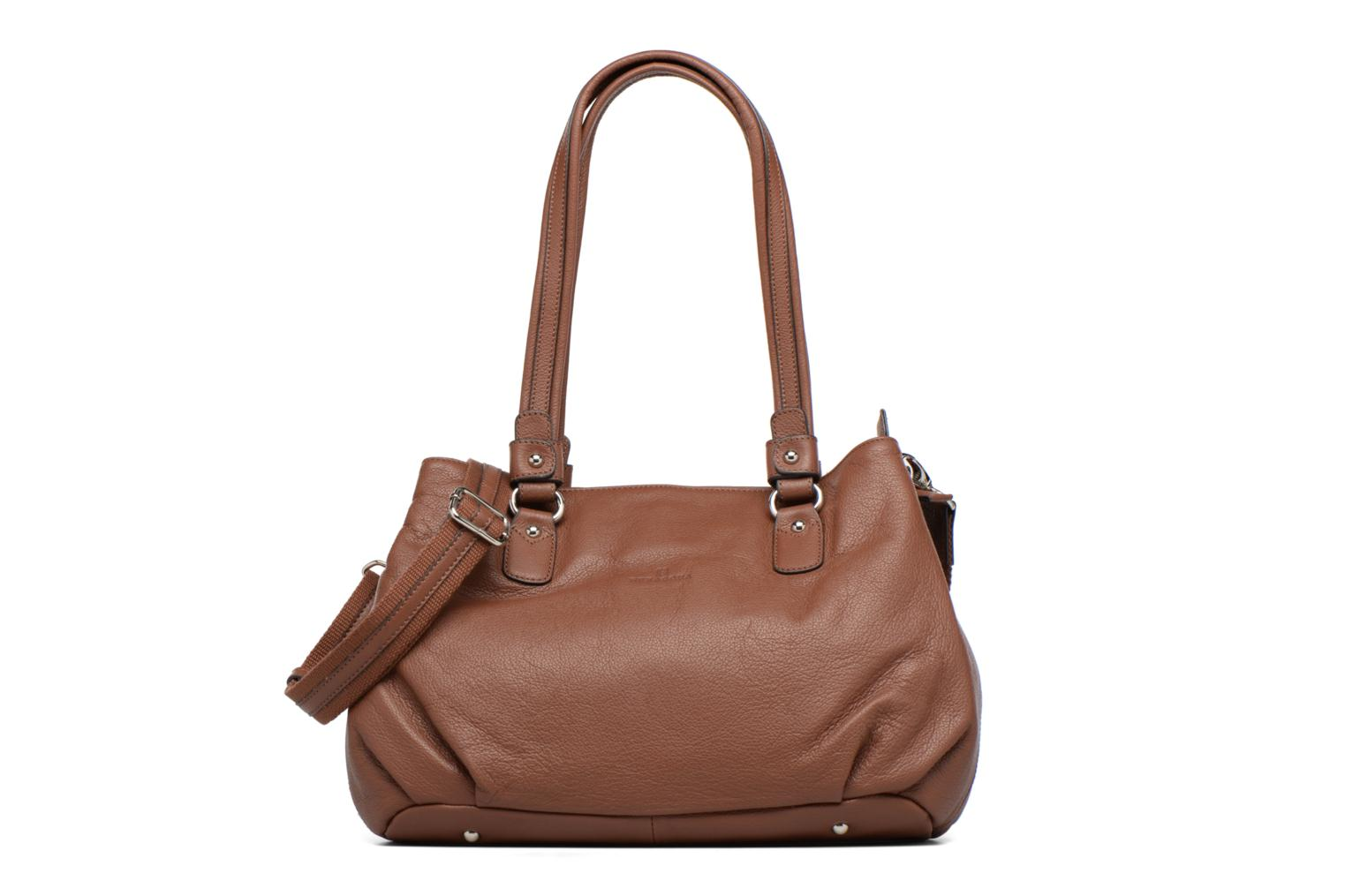 Handbags Hexagona Ovale Brown detailed view/ Pair view