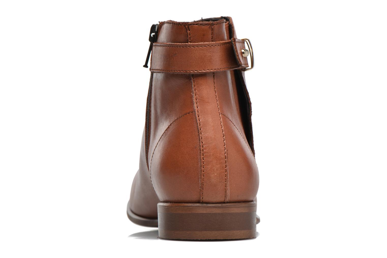 Bottines et boots Georgia Rose Aplati Marron vue droite