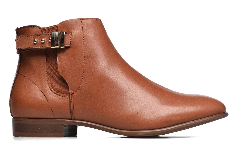Bottines et boots Georgia Rose Aplati Marron vue derrière