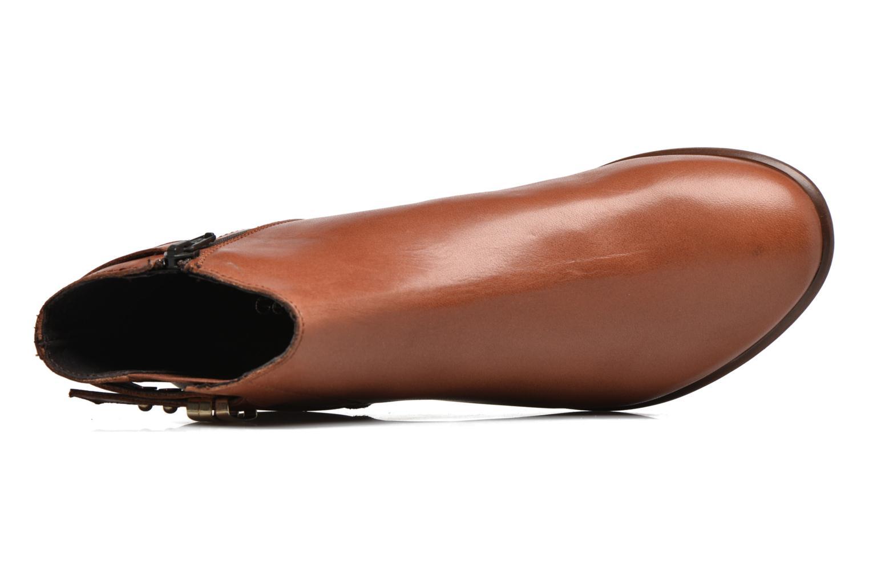 Bottines et boots Georgia Rose Aplati Marron vue gauche