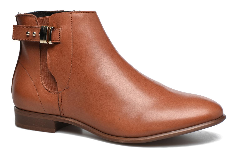 Bottines et boots Georgia Rose Aplati Marron vue détail/paire