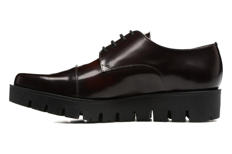 Chaussures à lacets Elizabeth Stuart Millau 308 Bordeaux vue face