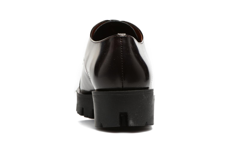 Chaussures à lacets Elizabeth Stuart Millau 308 Bordeaux vue droite