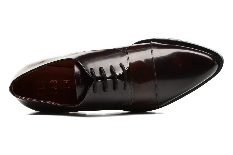 Chaussures à lacets Elizabeth Stuart Millau 308 Bordeaux vue gauche