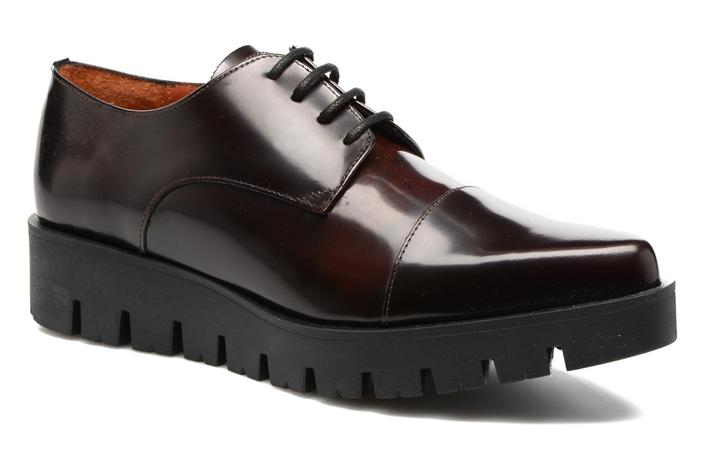 Chaussures à lacets Elizabeth Stuart Millau 308 Bordeaux vue détail/paire