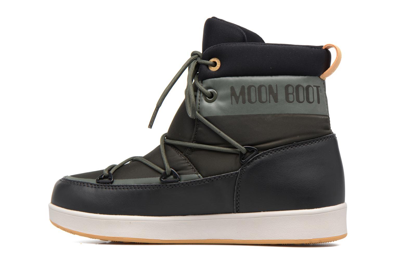Chaussures de sport Moon Boot Neil W Vert vue face