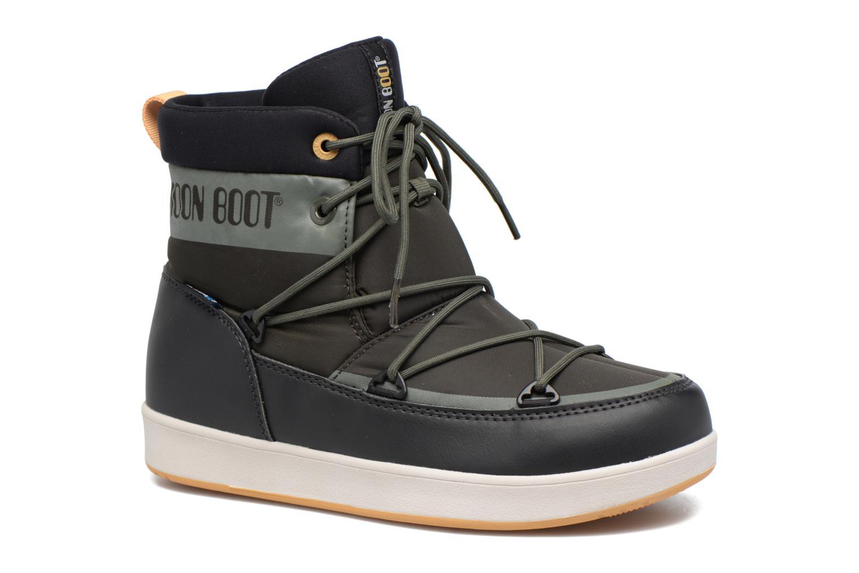Chaussures de sport Moon Boot Neil W Vert vue détail/paire