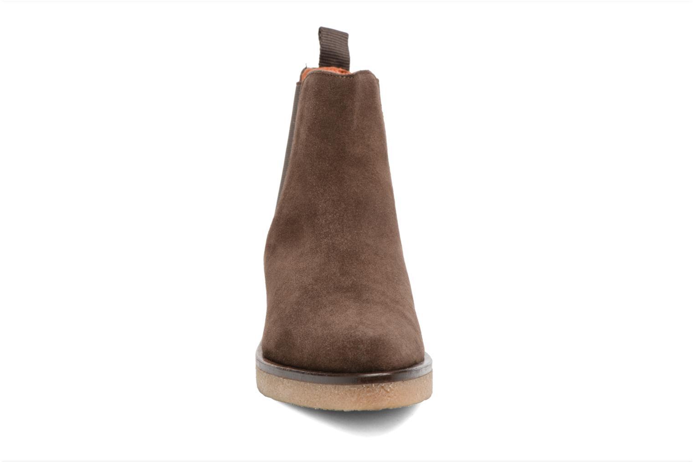 Bottines et boots Elizabeth Stuart Volis 334 Marron vue portées chaussures