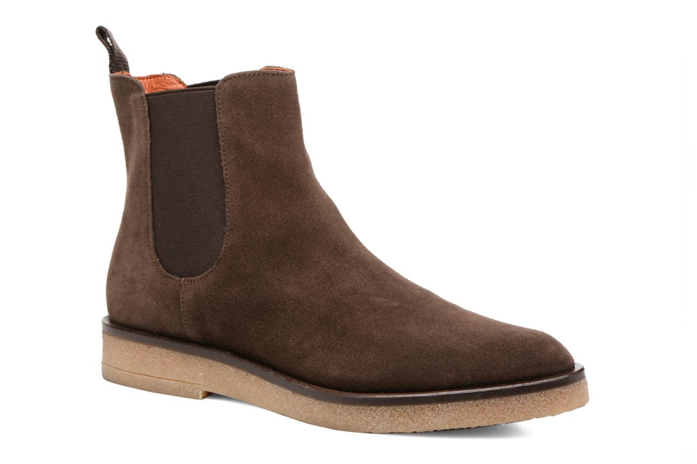 Bottines et boots Elizabeth Stuart Volis 334 Marron vue détail/paire