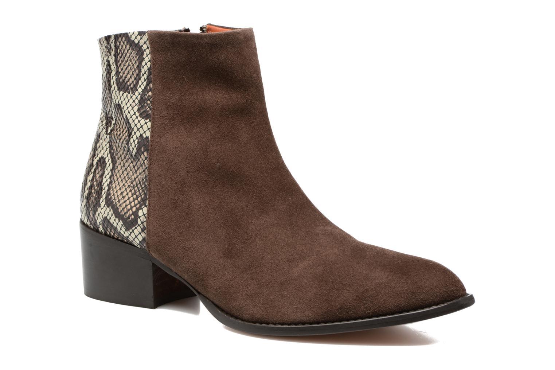 Bottines et boots Elizabeth Stuart Havys 500 Marron vue détail/paire