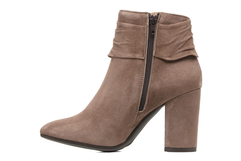 Bottines et boots Elizabeth Stuart Volla Beige vue face