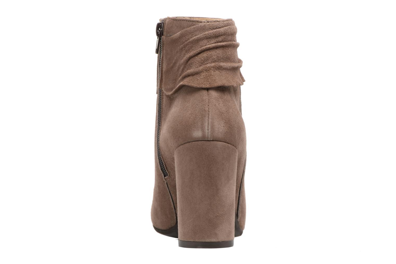 Bottines et boots Elizabeth Stuart Volla Beige vue droite