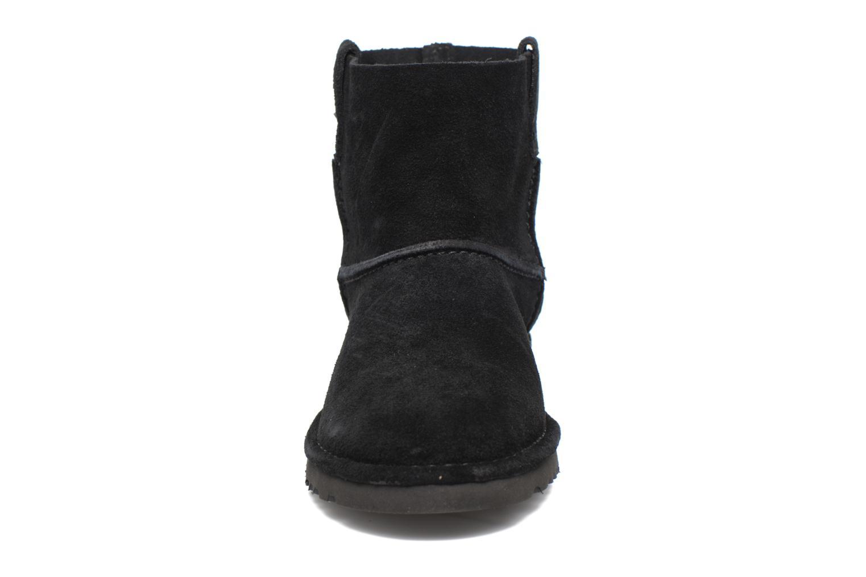 Bottines et boots UGG Classic Unlined Mini Noir vue portées chaussures