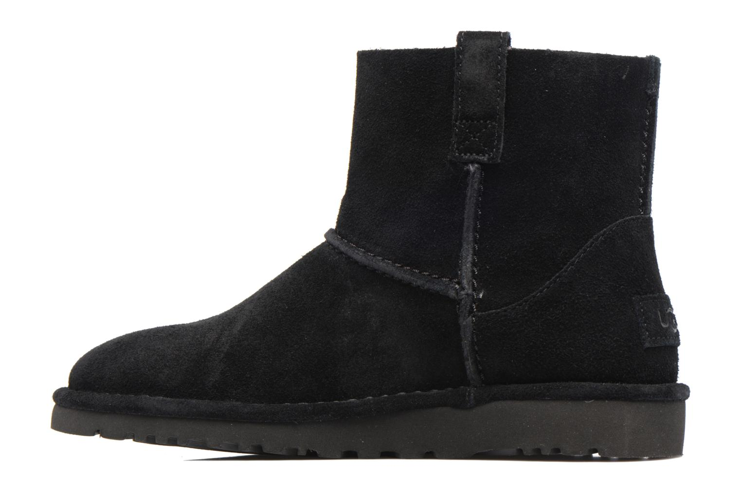 Bottines et boots UGG Classic Unlined Mini Noir vue face