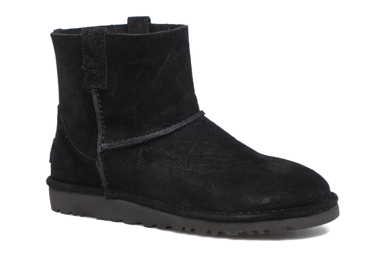Bottines et boots UGG Classic Unlined Mini Noir vue détail/paire